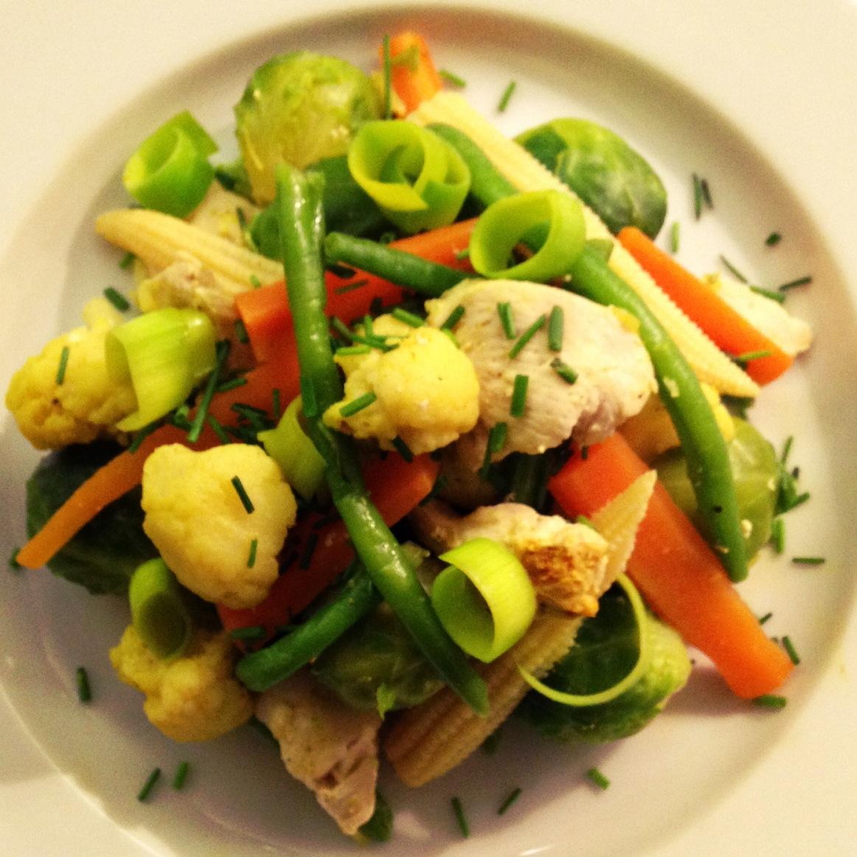 grøntsager til wok